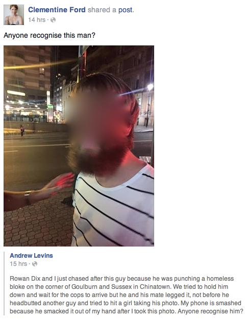 CF Facebook justice