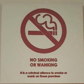 no-wanking