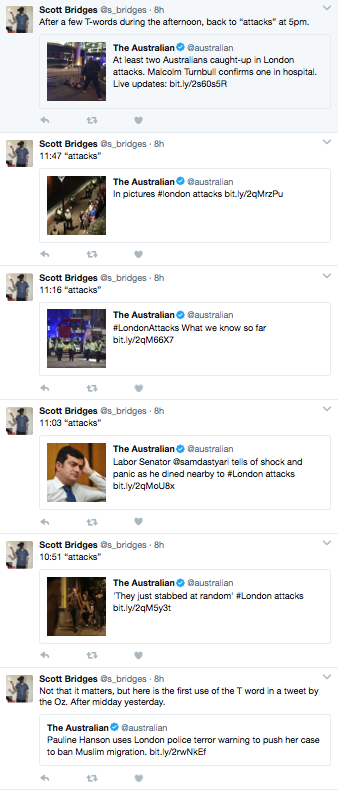 Scott Bridges' tweets
