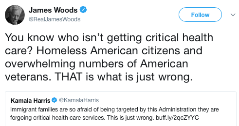 James Wood - Kamala Harris